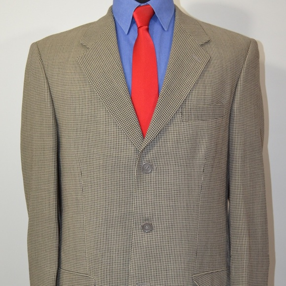 Joseph & Feiss Other - Joseph & Feiss 40L Sport Coat Blazer Suit Jacket B